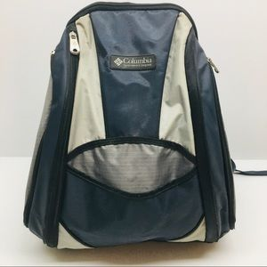 Columbia Sportswear Back Navy Blue 14x11x8